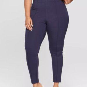 Women's Plus Size Pull-On Ponte Pants - Ava & Viv